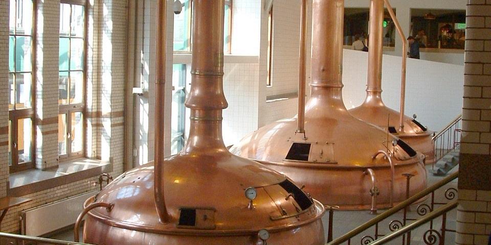 Craft Beer Brewing Vats