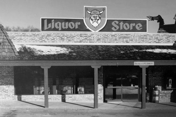 Original Liquor Store Storefront