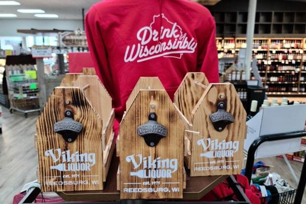 Handmade Wood Beer Holder
