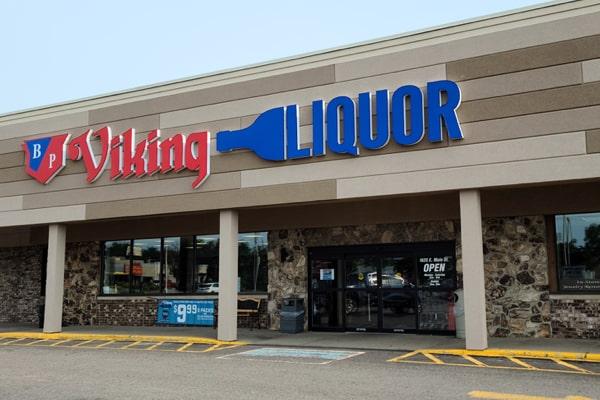 Liquor Store New Front